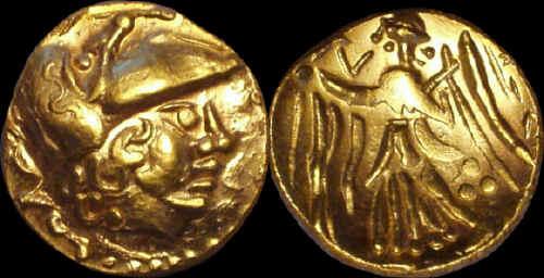 Statér zlato 999 | Keltové (1. pol. 2. stol. př. Kr.) střední Evropa | replika mince