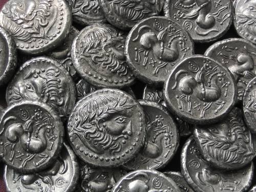 Tetradrachma cín | Keltové (3.-2. stol. př. Kr.) Panonie | replika mince