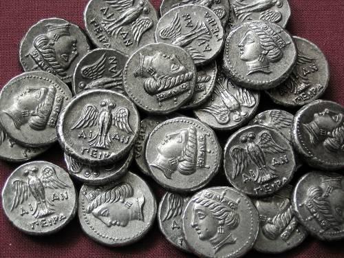 Drachma cín | Amisos (400-350 př. Kr.) Řecko | replika mince