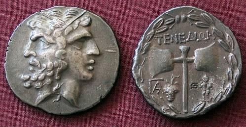 Tetradrachma stříbro 999 | Tenedos (2. stol. př. Kr.) Řecko | replika mince