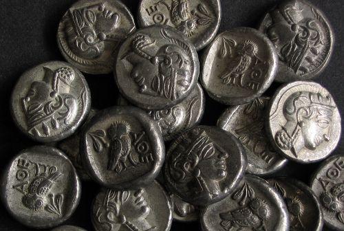 Drachma cín | Athény (5. stol. př. Kr.) Řecko | replika mince