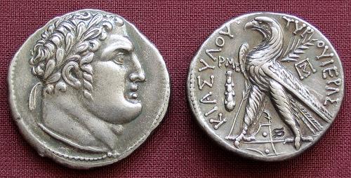 Jidášových 30 stříbrných | stříbrná replika mince