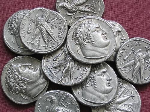 Jidášových 30 stříbrných | cínová replika mince