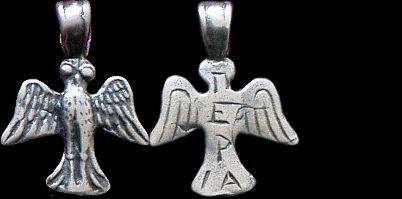 Přívěsek stříbro 925 | Sova (4. stol. př. Kr.) Řecko | replika