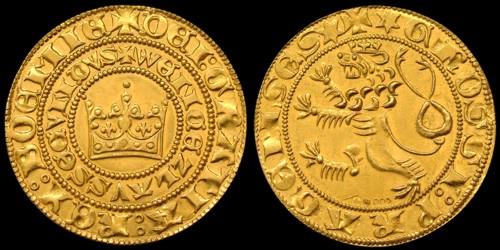 Pražský groš zlato 999 | Václav II. (2010) Limitované vydání 300 ks | replika mince