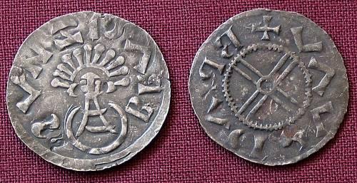 Denár stříbro 999 | Břetislav I. (1019-1034) Morava | replika mince