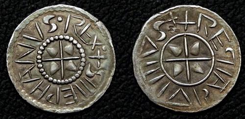 Denár stříbro 999 | Štěpán I. Svatý (997-1038) Uhry | replika mince