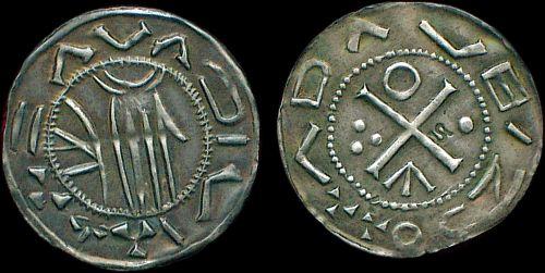 Denár stříbro 999 | Vojtěch Slavníkovec (957-997) Čechy | replika mince