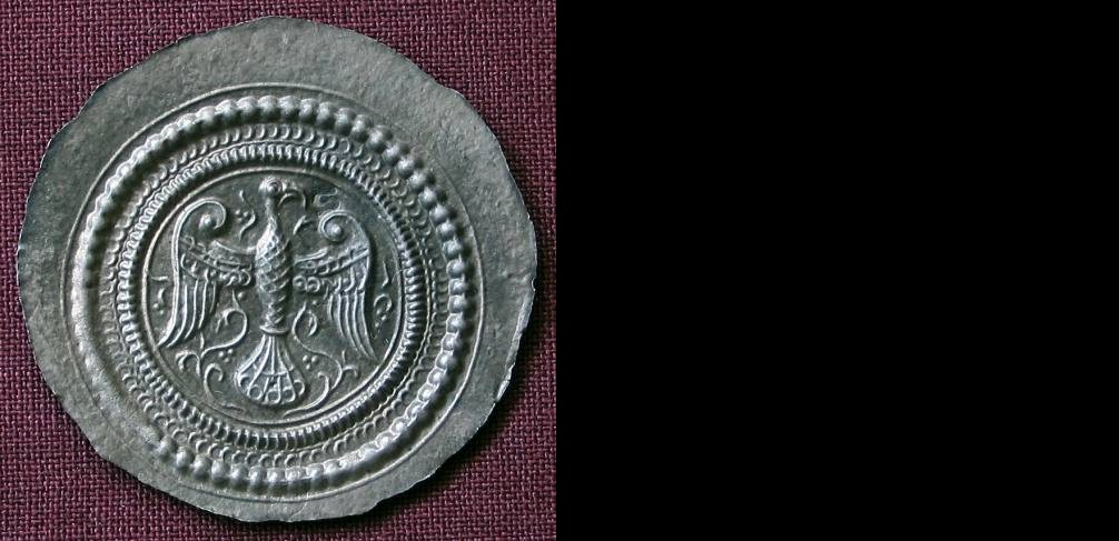 Medaile stříbro 999 | Brakteát s orlicí () |