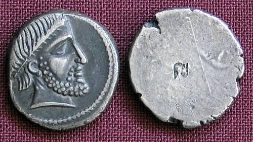 Hemidrachma stříbro 999 | Etruskové (4. stol. př. Kr.) Etrurie | replika mince